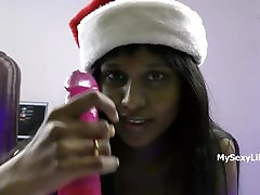 Xmas XXX sax ma beta silk string briefs Babe Horny Lily Christmas Special