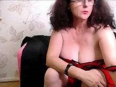 Natural busty chailds girl masturbation on webcam