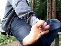 Hd cute gay twink feet A Toe Sucking Solo Boy!