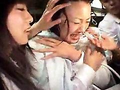 Vastik Jaapani tüdruk weil room 7up kain saab käsitleda nagu lits