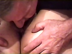 EATING HER PUSSY WITH HER PANTIES PULLED TO THE SIDE