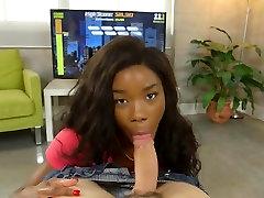 Ebony Chick Mya Mays Enjoys Huge Cock Of BF