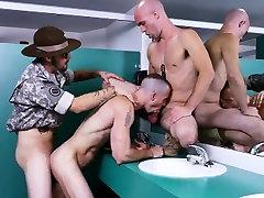 Military hairy cum photo gay Good Anal Training