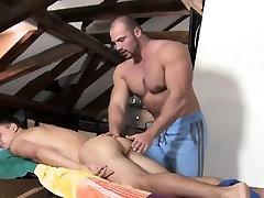 Steamy sexy wife doping session for slutty gay boy-friend