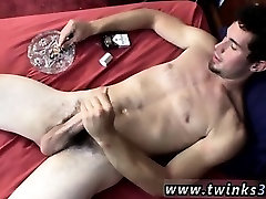 Hot teacher vs small school boy gay sex Hunter chain-smokes