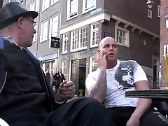 Real busty Dutch hooker busy retro camera
