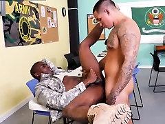 Xxx dp ebony bald threesome anal Yes Drill Sergeant!
