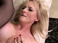 Throating mature deep throth blowjobly analfucked