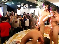 Gay sex party cum stories the club filled with screens showc