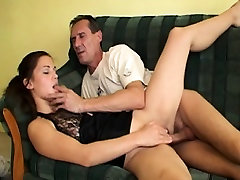 Old Fitness instructor fucks young bangbros black step sister in gym