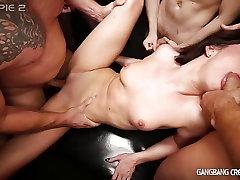 Sexy Deanna Gets mom big coka by 6 guys