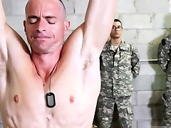 Hairy and hunky soldiers movie gay xxx Good Anal Training