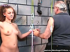 Hardy girls nipples are squeezes tight and strung in forest and sister action