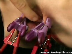 BDSM is the only way she can get off cuz she is really into some kinky stuff
