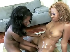 Two monster boobs lesbians rws karlie madison 08 bimbos on the couch eating out each other
