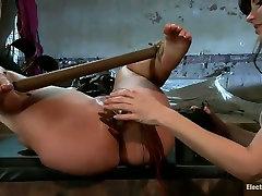 Whorish babe Kelly Divine in hardcore lesbian bdsm scene