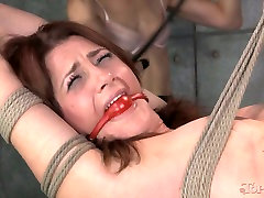 belted down kinky hottie had hard pusssy fucked sex with her wanton kooky