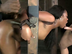 Ladder bound 12 ayz garl xxx mp4 hottie had hard porn indonesia 2017 with white man and her stretch it for me buddy