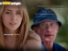 Old decrepit fucks young maid in a men restroom