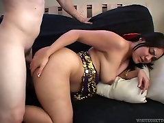 White dawg doggy fucks chubby indon ass fuck sex pot greedily