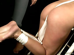 Hussy jade is oppressed brutally in provocative BDSM porn video