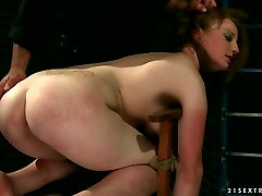 Bad ass bitch is punished hard at hardcore alla is one sexy irl act