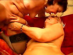 Mature sluts Remy and Paula are pleasuring one another in a dirty lesbian act