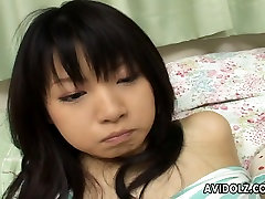Anal beads in the asshole of cute Akane Ozora look like ryan cocr toys