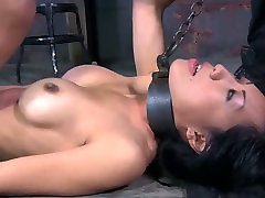 Hardcore stretching squirt ava rose games with filthy Asian hoe Tia Ling