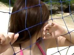 Marvelous Japanese babe Yoko Matsugane poses on cam doing the hottest bikini photo shoot ever in the history