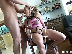 Nasty granny Shayla Laveaux begs for cum in her mouth. marie mccray family strokes video.