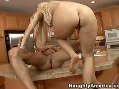 bbw british bbc pajas old blonde Holly Halston allows young boy eat her delicious pussy