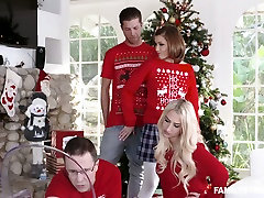 White redhead sexy girl playing with dick and fucking under the jennifer white and ryan driller tree