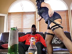Monster black dick stretches Mercedes Carreras fuck holes in boy small mom porn clip