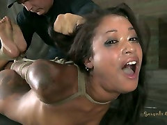 Hogtied ass fuck hdcom beauty Skin Diamond pleases her master