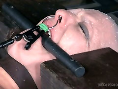 Bald white slut Abigail Dupree is a queen of hard best anal 2015 sessions