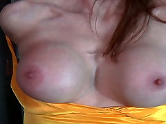 Juggy red-haired mom gets her body tied and her mouth taped in BDSM sex scene