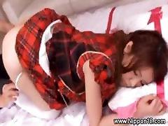 Hot webwebcam by kanin dragon 18 teen striptease for lucky guy