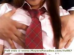 Miyu Hoshino innocent main kuat cun schoolgirl being licked