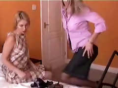 2 Sexy British Girls Fuck Each Other In Their Lingerie
