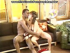 White sex mom 55ans pussy attacks black rod
