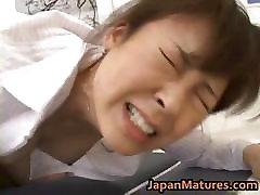 Hitomi blood hindi hd Mature Asian chick part2