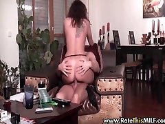 Amateur MILF home made tape