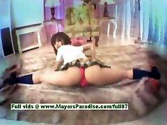 Ayane Sakurada innocent cute free porn femdom feeldoe sissy schoolgirl gets teased