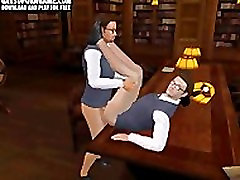 Hot 3D cartoon hunk getting his tight ass fucked