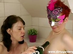 Asshole being ripped inside out! - DirtyGardenGirl - Anal destruction