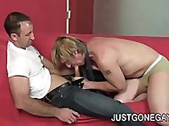 Steven Richards: Horny Daddy Fucking A young Dude