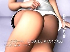 Hot 3D anime chick riding a big cock