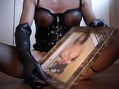 handjob by tranny katja took on this pipe for the mistress
