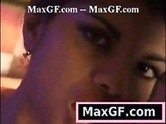 Hot Ebony Celebrity Strip Sexy Solo Girl Porn